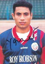 FC Hansa Rostock Autogrammkarte Radwan Yasser, orig. signiert
