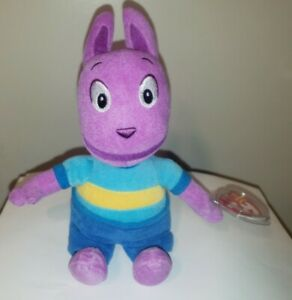 Ty Beanie Baby - AUSTIN the Kangaroo (BACKYARDIGANS Plush)(9 Inch) MINT TAGS