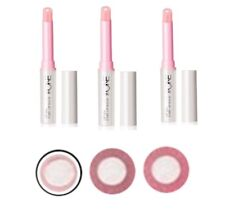 3 x Oriflame Lip Spa Care Therapy Lip Balms - Natural Pink + Nude + Transparent