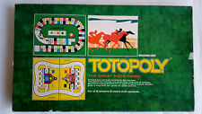 1972 Vintage Totopoly Board Game The Great Race Game By Waddingtons Complete