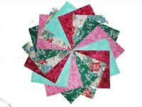 """40 5"""" Quilting Fabric Squares BEAUTIFUL ASIAN FLORAL/BUY IT NOW!!!"""
