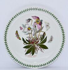 "Portmeirion BOTANIC GARDEN - Helleborus Niger Pavlova/Buffet Plate 25.8cm/10"""