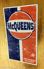 MC queens old school sticker usa autocollant muscle car skull rockabilly v8 racing