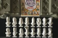 CLEVELAND PETROL KINGS & QUEENS BUSTS WHO MADE ENGLAND GREAT SET OF 16 & STAND G