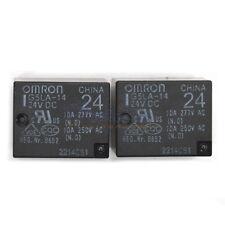 2PCS 24V Omron Relay G5LA-14 24VDC 10A 250VAC Power Relay