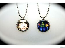 The Cure - 2 sided necklace- Robert Smith