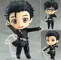 Anime Yuri!!!on Ice Yuri Katsuki Nendoroid PVC Figura Figurilla Modelo