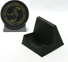 Black Ice Hockey Skate Icehockey Puck Display Holder Mount Case Stand Box Bin Ne