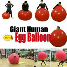 ORIGINAL 72 inch Giant Human Egg Balloon Funny  Game Toy
