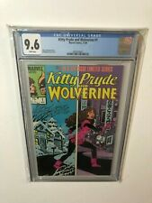 KITTY PRYDE AND WOLVERINE 1 CGC 9.6 WHITE PAGES!! MARVEL COMICS NM