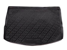 Tailored Fit Black Boot Liner Tray Car Floor Mat for Ford Focus Estate (2011 on)