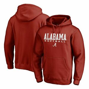 Alabama Crimson Tide Fanatics Branded True Sport Softball Pullover Hoodie -
