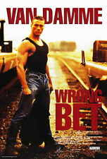 WRONG BET Movie POSTER 11x17 B Jean-Claude Van Damme Harrison Page Deborah