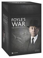 Foyle's War The Complete Saga 1-8 (DVD, 2015) Season 1 2 3 4 5 6 7 8 Foyles