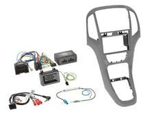 für OPEL ASTRA J Auto Radio Einbau Set Blende grau Doppel-DIN Auto Radio Adapter