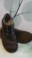 Dr Martens Low Top Shoes - Distress Brown Leather US 12 - UK 11