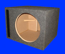 "10"" SINGLE 1.50 Cu.Ft. PORTED L-VENTED 3/4 MDF GREY SUBWOOFER SUB ENCLOSURE BOX"