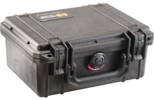 Pelican 1150 Case (NF) no foam; Fire Retardant -- Black