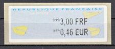 Briefmarken Frankreich FRA ATM ** 2000 Michel ATM 18.2xe = 1 Wert 3,00 FRF