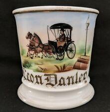 Original Carriage Driver Antique Occupational Shaving Mug