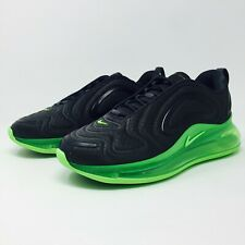 Nike AIR MAX 720 Anthracite Black Green Sneakers (AO2924-018) Men's Size 8.5