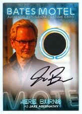 "JERE BURNS ""JAKE ABERNATHY COSTUME AUTOGRAPH #BC13"" BATES MOTEL SEASON 1"