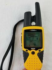 Garmin Rino 110 GPS Satellite Navigation & 2-Way Radio Handheld Unit works!