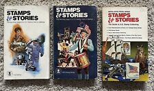 United States Stamps and Stories, 1st edition, 2nd edition and 8th editions USPS