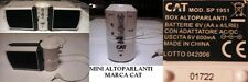 BOX ALTOPARLANTI CASSE MARCA/BRAND CAT - MINI SPEAKERS MOD. SP. 1951