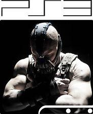 Playstation 3 PS3 SLIM BANE BATMAN ADESIVO IN VINILE sottile