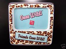 FRIENDS GONE WILD Ceramic Photo Frame w/ Magnetic and Easel Back NEW