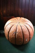 More details for  giant hand made round pumpkin  life sized prop halloween halloween party