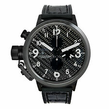 U-Boat Flightdeck Chronograph Ceramic Carbon Fiber Automatic Men's Watch 7118