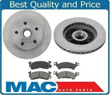 Fits 94-02 Chevrolet Astro & GMC Safari Rear Wheel Drive Front Rotors & Pads