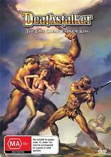 DEATHSTALKER - THE LAST GREAT WARRIOR KING -  DVD - FREE LOCAL POST