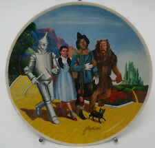 Wizard of Oz We're Off to See The Wizard Knowles Collector Plate 1979 13505E Md