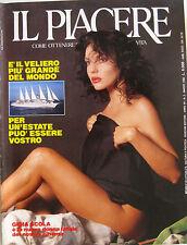 IL PIACERE 3 1990 Gioia Scola Donald Trump Marla Maples Havel Salman Rushdie