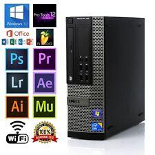 Dell OPTIPLEX 790 SFF QUAD CORE i7 2600 3.4GHz 8GB RAM 500GB HD WIN 10 64 Bit