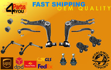 KIT  FRONT SUSPENSION WISHBONE ARMS BALL JOINT LINKS PEUGEOT 407 CITROEN C6 bush