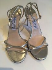 Jimmy Choo Silver 38.5 (EU) Wedding-style sandals