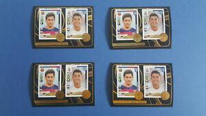 4x Messi / Ronaldo sticker # 8 Fifa365 2016 - 2017 Mint condition