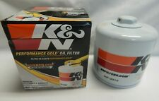 K&N Performance Engine Oil Filter HP2010 Premium Gold Wrench Off On
