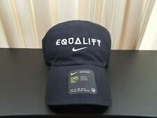 Nike Equality Heritage86 Black Adjustable Hat Black History Month Cap CK2095-010
