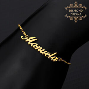 Personalized Custom Name Stainless Steel Leg Chain Ankle Foot Women Jewelry Gift