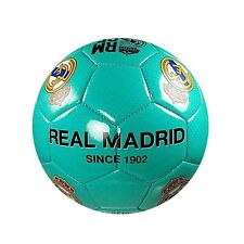Real Madrid Soccer Ball (Size 4) Teal Color