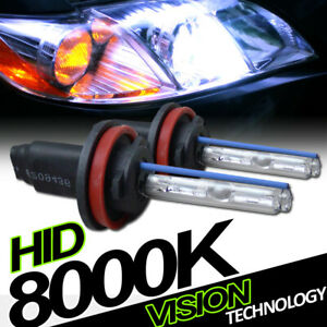 8000K Hid Xenon H11 Driving Bumper Fog Lights Lamp Bulbs Conversion Kit New Vd4
