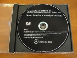 2007-2008 MERCEDES GL320 GL450 GL550 LATEST NORTH AMERICA NAVIGATION DVD MAP GPS