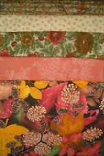 5 YARDS  Quilt Fabric Kit - Fall Theme