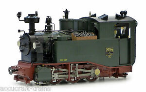 Accucraft  AL87-011B  Sächsische IK Nr. 54, Live Steam, Spurweite 32 und 45 mm