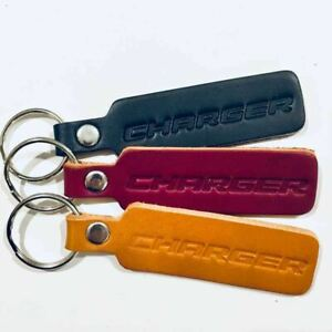 Keychain - Dodge Charger Leather